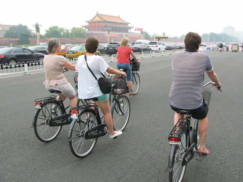 Cycle through Beijings to the best places the city has to offer.